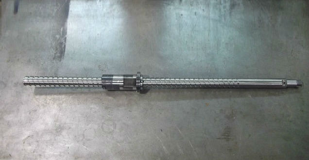 W Axis ball screw